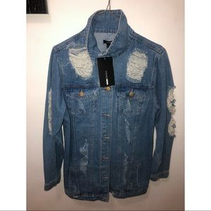 Oversized Fashion Nova Jean Jacket